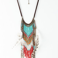 Amazonian Feather Necklace