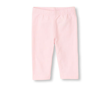 Baby And Toddler Girls Solid Capri Leggings | The Children's Place
