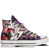 Converse - All Star DC Comics- Harley Quinn - Hi - Purple/Black