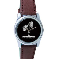 Hunt or Be Hunted Quote | House of Cards Inspired Wrist Watch