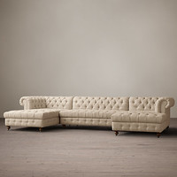 Cambridge Upholstered U-Chaise Sectional