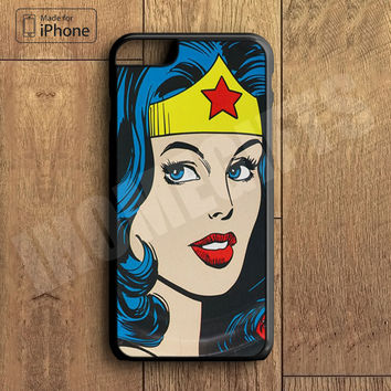 Super Hero Wonder Woman  Plastic Case iPhone 6S 6 Plus 5 5S SE 5C 4 4S Case Ipod Touch 6 5 4 Case iPhone X 8 8 Plus