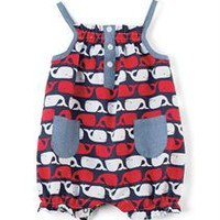 Mud Pie | Whale Romper