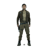 Captain Cassian Andor Star Wars Rogue One Cardboard Standup