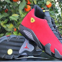 "Duangstyle - Air Jordan 14 Retro ""BLACK FARRARI"""