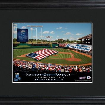 Personalized MLB Stadium Print - Royals