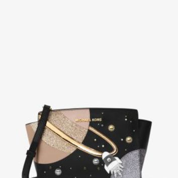 Selma Rocket Medium Leather Messenger | Michael Kors