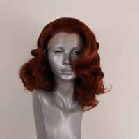 Marilyn- Copper Red Lacefront Wig