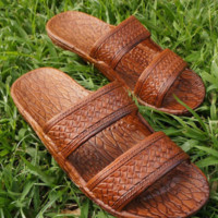 classic brown pali hawaii,  Jesus sandals