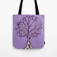 Mother Tote Bag by ES Creative Designs