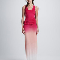 Hamptons Sunset Ombre Maxi Dress