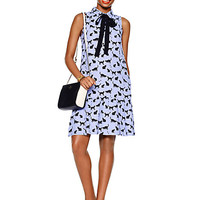 Kate Spade Cats And Cream Tiered Dress Dark Aster