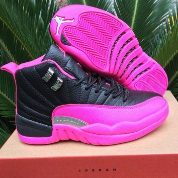 Air jordan 12 women basketball shoes