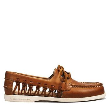 DCCKH2N Sperry Top-Sider A/O Haven Leather Women's - Sahara