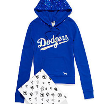 Los Angeles Dodgers Bling Pullover Hoodie - PINK - Victoria's Secret