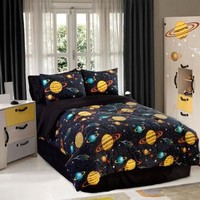 ROCKET STAR COMFORTER SET IN DIFFERENT SIZES