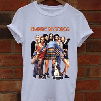Empire Records T-shirt and Tank Top. Small to X-Large.
