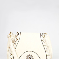 Isabella Cut Work Cross Body Festival Bag
