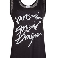 Sonia By Sonia Rykiel 'bonsoir' Tank - Knit Wit - Farfetch.com