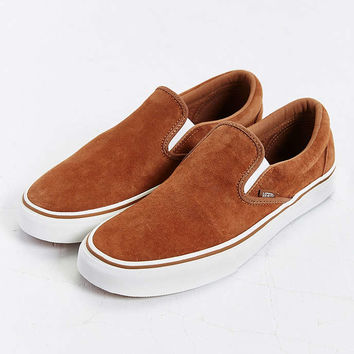 Vans Classic Suede Slip-On Sneaker - Urban Outfitters