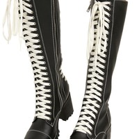 High Nancy Corset Boots