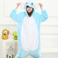 Animal Cartoons Couple Home Winter Sleepwear [6819645255]