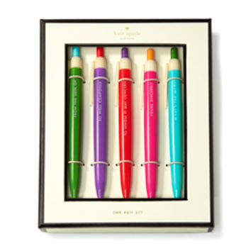 """Kate Spade """"So Well Composed"""" Pen Set"""