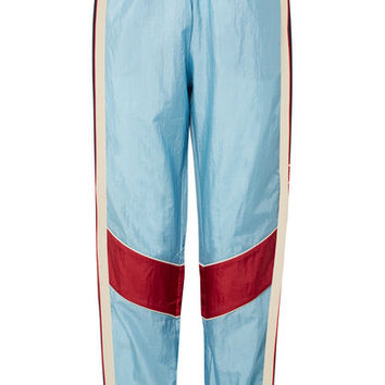 Gucci - Paneled shell track pants