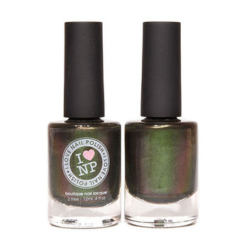 Green Goblin - Green, Orange Duochrome Nail Polish