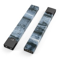 Skin Decal Kit for the Pax JUUL - Abstract Wet Paint Soft Blue