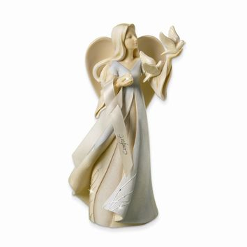Foundations Comfort Angel Figurine - Perfect Religious Gift