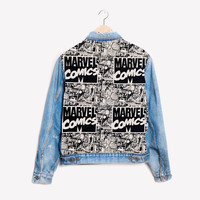 RWDZ x Marvel Comics x Levis Jacket