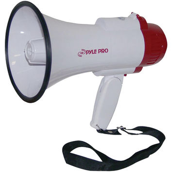 Pyle Pro Professional Megaphone And Bullhorn With Siren & Voice Recorder