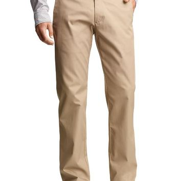 The Tailored Khaki Straight Fit