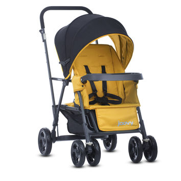 Joovy Caboose Graphite Double Stand-On Tandem  Stroller - Amber