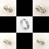 Youpop KPOP BTS Bangtan Boys Album Ring V JIMIN JUNGKOOK K-POP Jewelry Rings Accessories For Men And Women Female Male Boy Girl