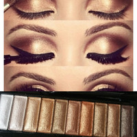 L.A. GIRL GOLD 10 COLOR EYE PALETTE