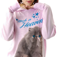 Wildfox Couture Made in Heaven Gypsy Pullover Hoodie Daisy