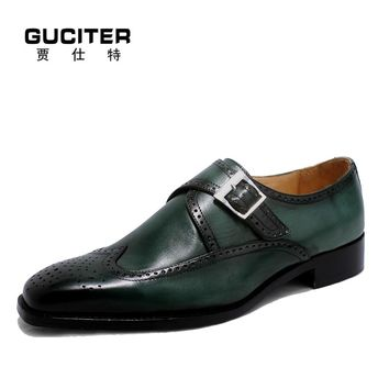 Goodyear craft Monk shoes