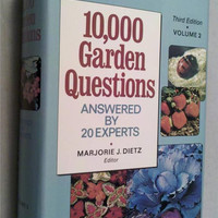 10,000 Garden Questions Answered by 20 Experts 3rd Ed. Vol. 2 Vintage Dietz book