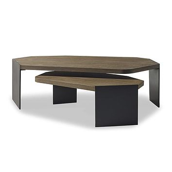 Brownstone Furniture Jasper Nesting Coffee Table