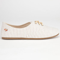 Roxy Gracie Womens Shoes Beige  In Sizes