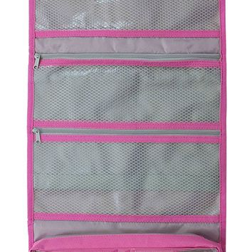 Hanging Toiletry Bag & Cosmetic Organizer - Large Size, See-Through & Lightweight