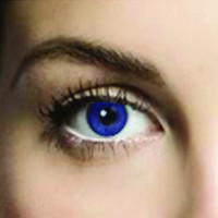 Mesmereyez Royal Blue Coloured Contacts (Comfort)