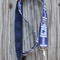 Sports Ribbon, Dallas Cowboys Safety Breakaway Lanyard, ID Badge,Cell Phone, Key Holder, Ribbon