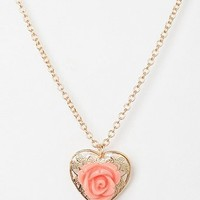 Hearts & Flowers Necklace