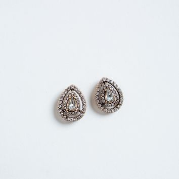 Lani Crystal Teardrop Earrings