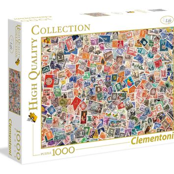 Stamps - 1000 Piece Jigsaw Puzzle