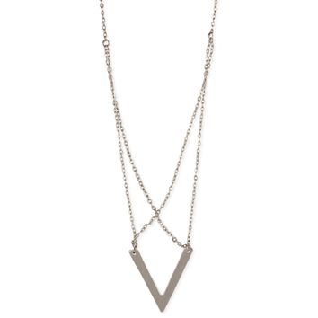 Silver Chain Armor Necklace