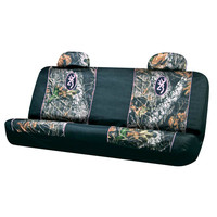 Browning Buckmark Mossy Oak Camo and Pink Bench Seat Cover